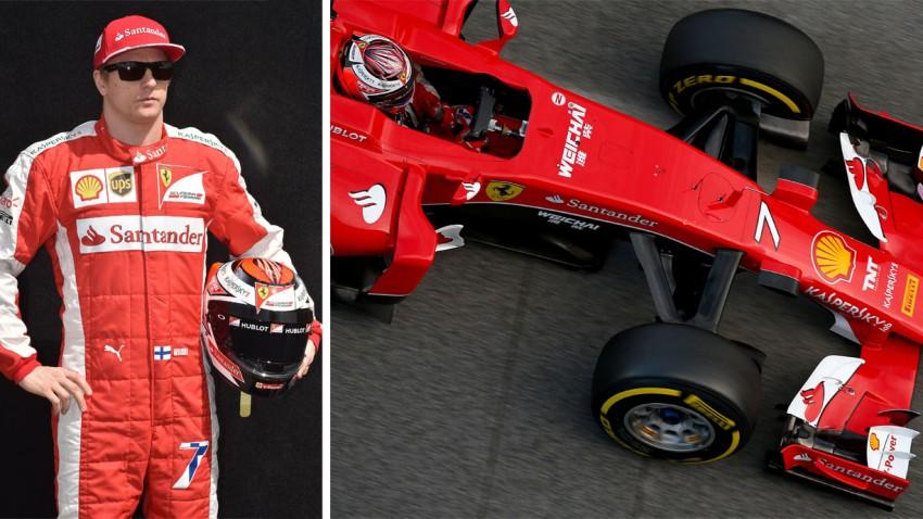 Formel 1 Steckbrief: Kimi Räikkönen