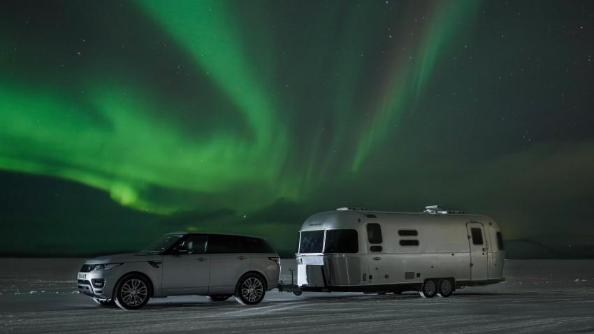 Land Rover und Airstream am Polarkreis: Traust dich nie