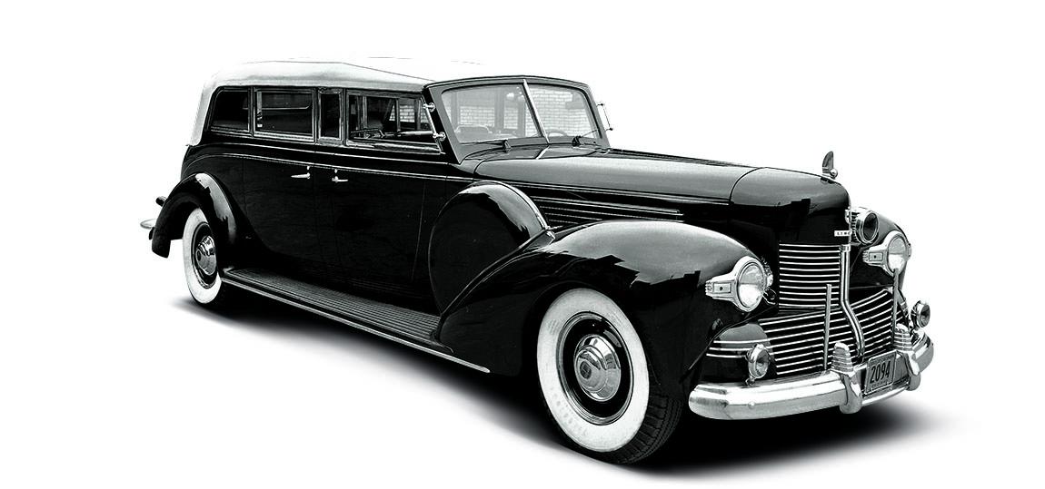 1939 - K Chassis. Die erste Präsidenten Limousine von Lincoln. Das Dienstfahrzeug für Roosevelt.