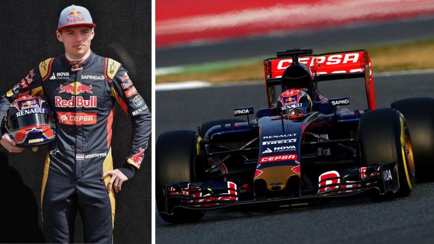 Formel 1 Steckbrief: Max Verstappen