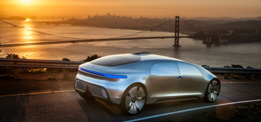 Mercedes-Benz F 015 Luxury in Motion in San Francisco