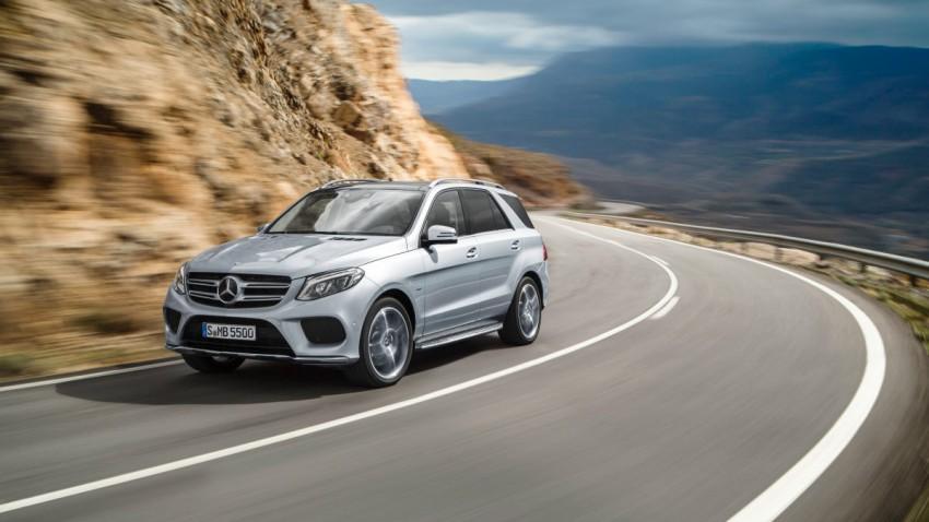 Es geht los: Aus M-Klasse wird Mercedes GLE