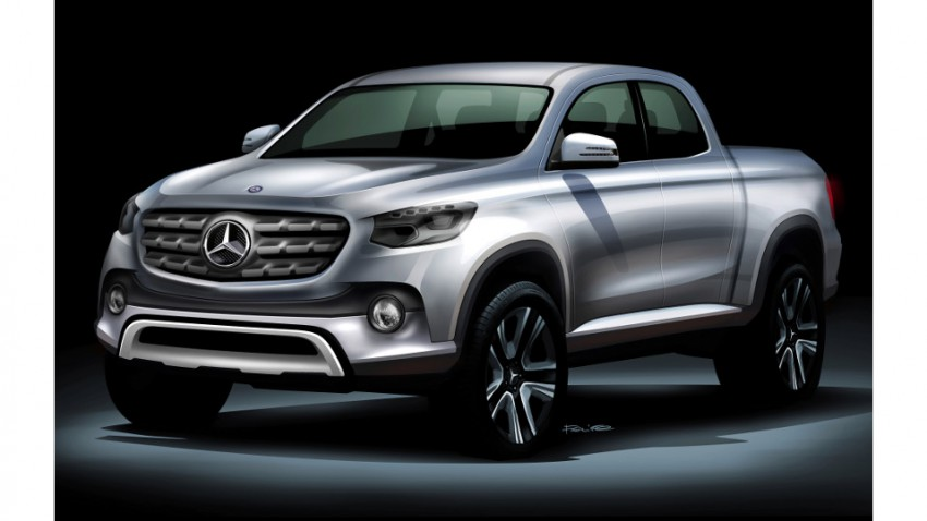 Mercedes Pick Up