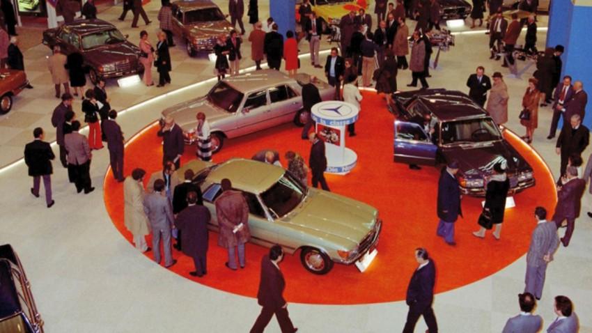 Mercedes-S-Klasse-W-116-auf-dem-Genfer-Salon-1973