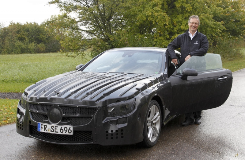 Mercedes SL Baureihe R 231 mit Jürgen Weissinger