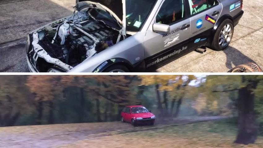 Suzuki Swift vs. Mercedes C 600 V12
