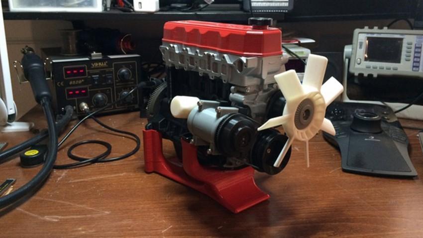 Motor aus dem 3D-Drucker