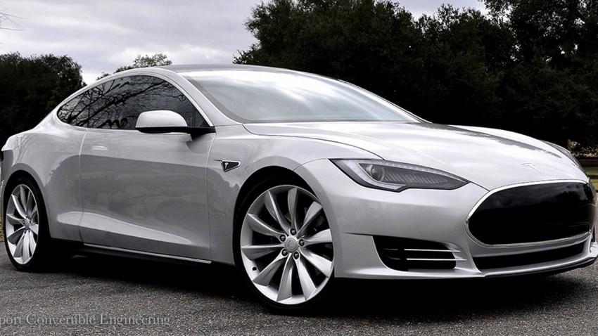 Tesla Model S als Coupé oder Cabrio?