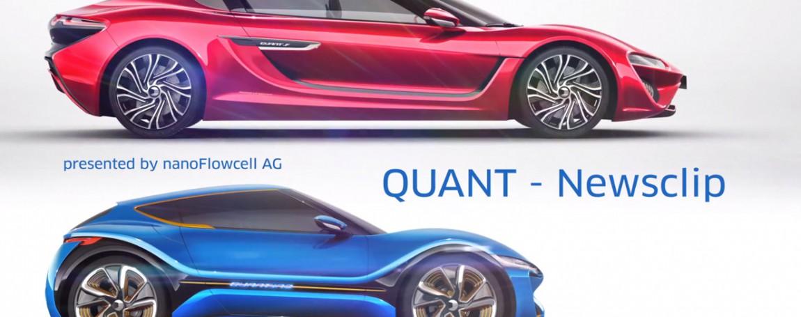 QUANT betritt mit zwei Modellen und Flusszellentechnik den E-Sektor
