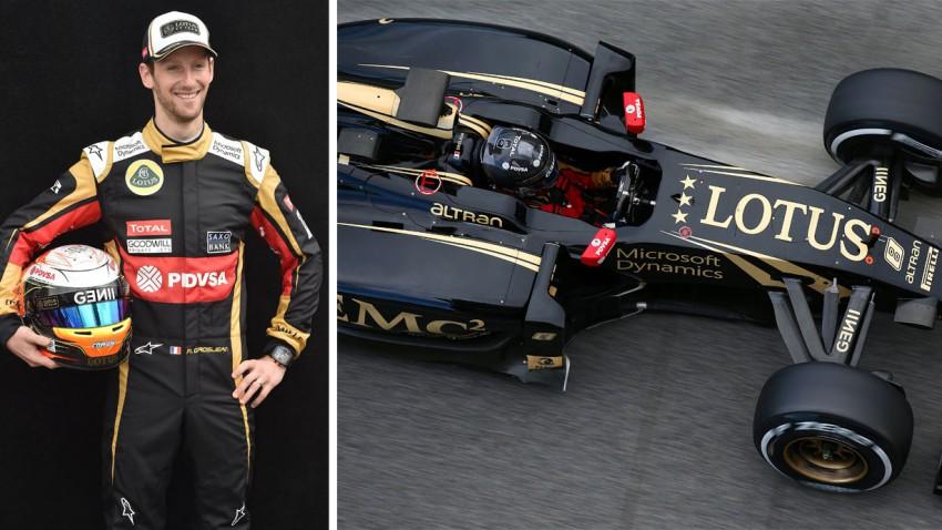 Formel 1 Steckbrief: Romain Grosjean