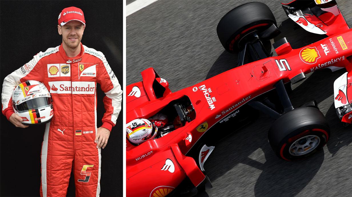 Formel 1 Vettel