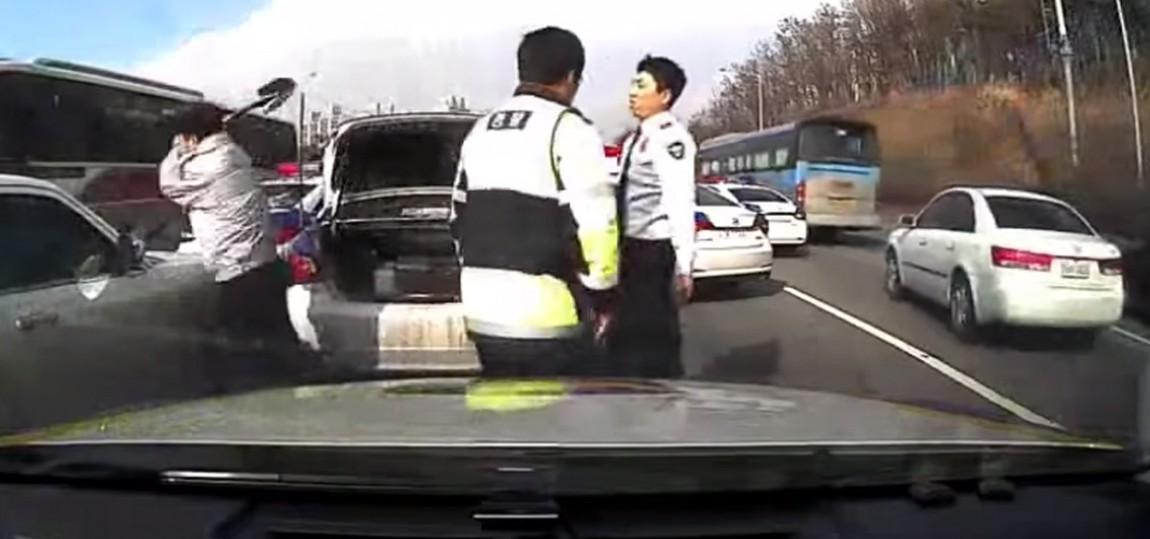 Polizeiarbeit in Südkorea