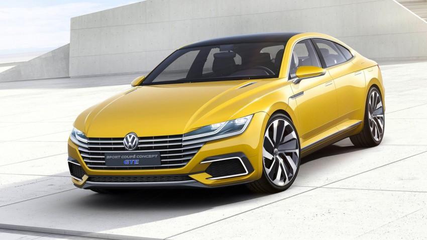 VW Sport Coupe Concept GTE: Lückenfüller?