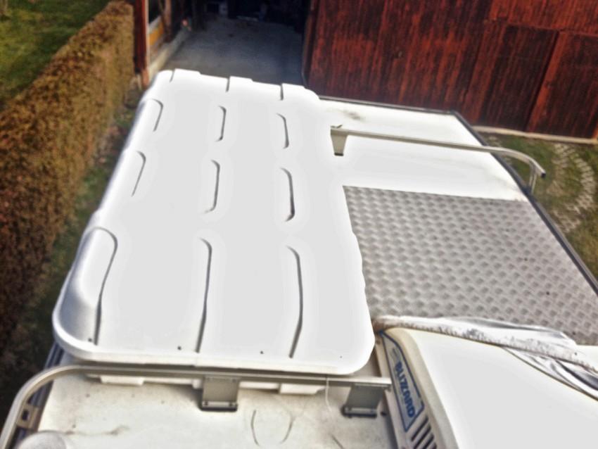 Fiat Ducato buerstner 1990 wohnmobil dach
