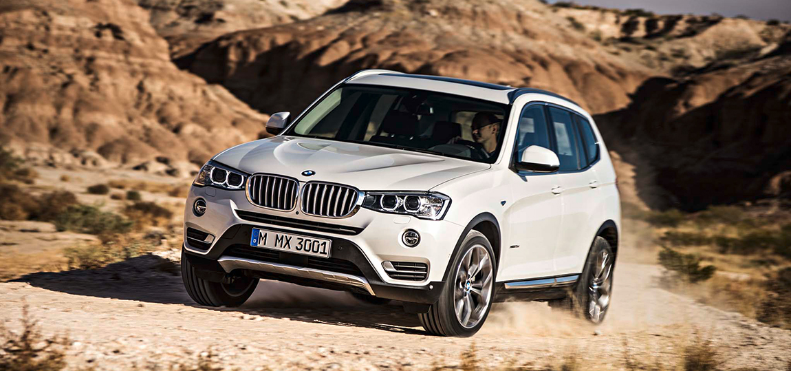 2015-bmw-x3-front-three-quarters-in-motion