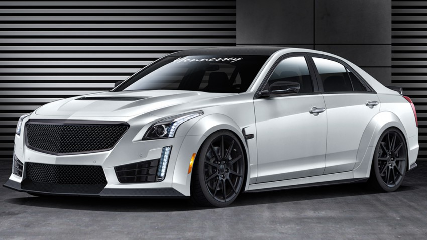 HPE Cadillac CTS-V mit 1000 PS