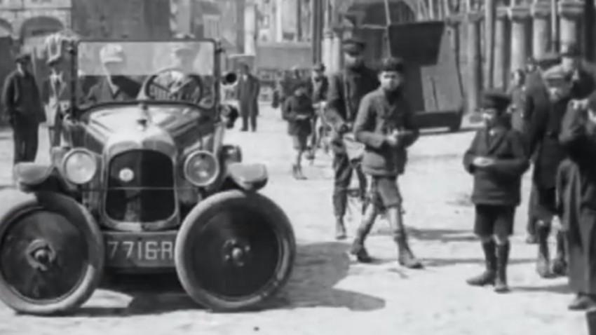 Als 1927 in Paris das Parkplatzproblem gelöst wurde