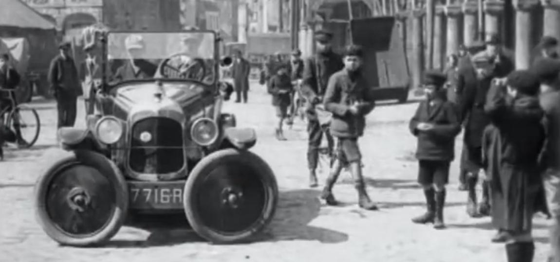 als 1927 in Paris das Parkplatzproblem geloest wurde
