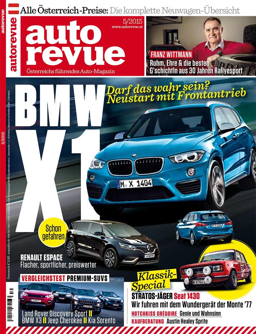 Autorevue Magazin: Ausgabe 5/2015