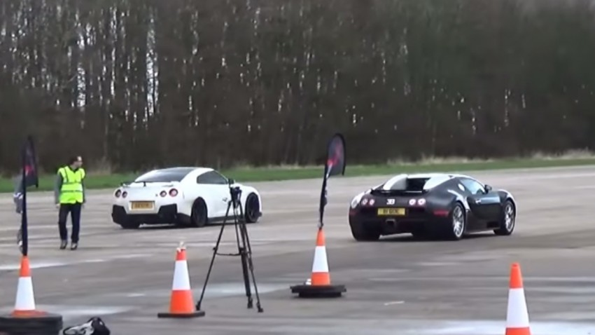 Duell in der 1.000-PS-Liga: Veyron vs. GT-R