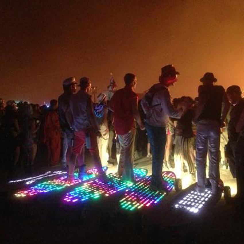 Burning Man E-Glides