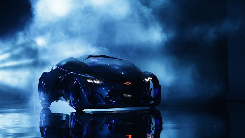 Chevrolet FNR: Selbstfahrender, futuristischer Prahl-Stahl