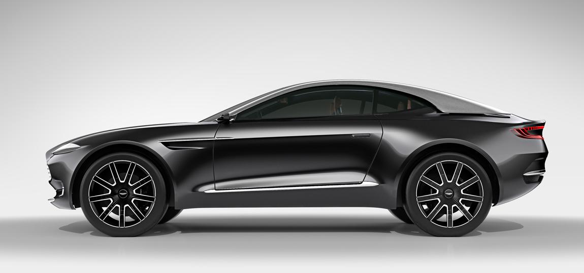 In Genf zeigte Aston Martin mit dem DBX schon ein Elektroauto. Wenn auch ein sehr realitätsfernes.