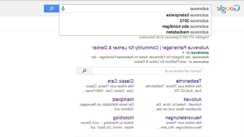 google verkehrt2