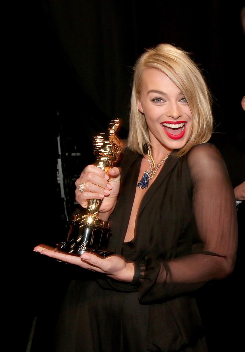 Margot Robbie spielte die Ehefrau von Leonardo diCaprio in Wolf of Wall Street. Den Oscar musste sie wieder hergeben.