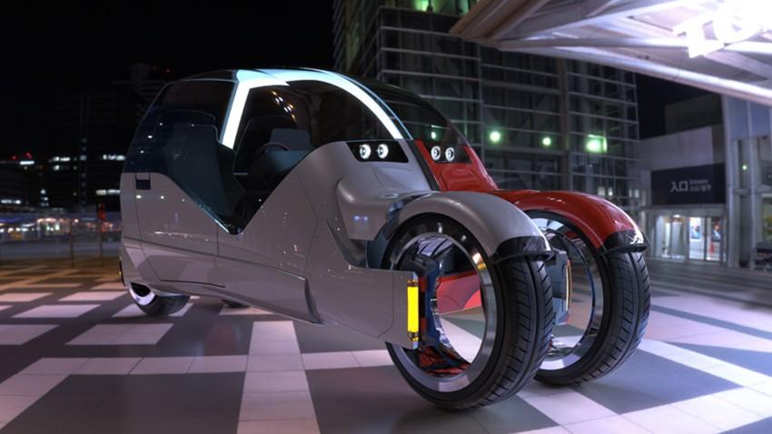Mark Wilsons Lane Splitter: Ein Auto wie zwei Motorräder