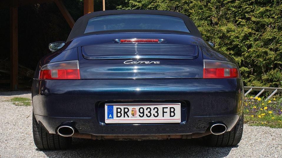 porsche 911 996 cabrio