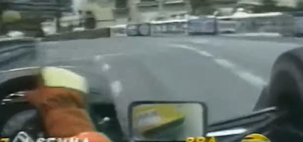 Senna, McLaren-Honda, Handschaltung, Monaco und ein geniales Überholmanöver