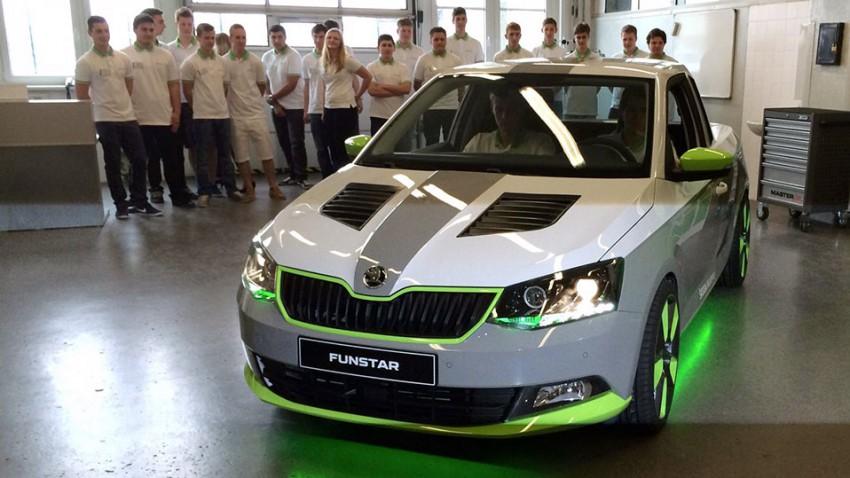 Dem Fun verschrieben: Škoda FUNstar