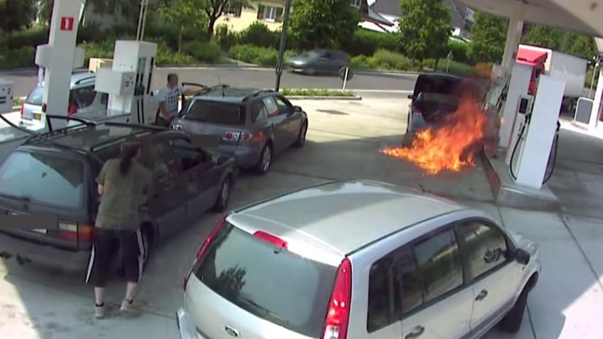 Wie lassen sich Tankstellenbrände vermeiden?