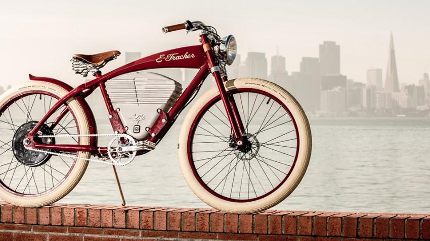 Vintage Electric Bike-E-Tracker-1