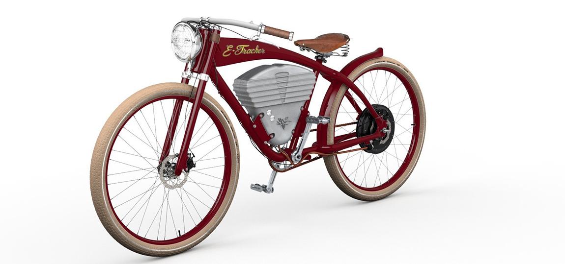Vintage Electric Bike-E-Tracker
