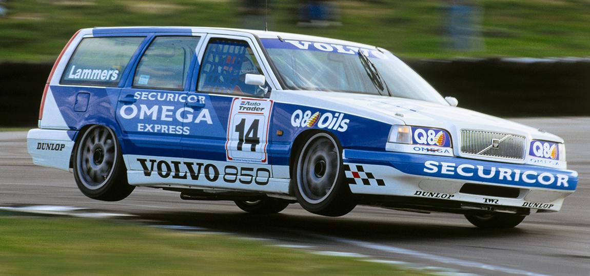 Jan-Lammers, ein Engländer, war der zweite Pilot bei Volvo.