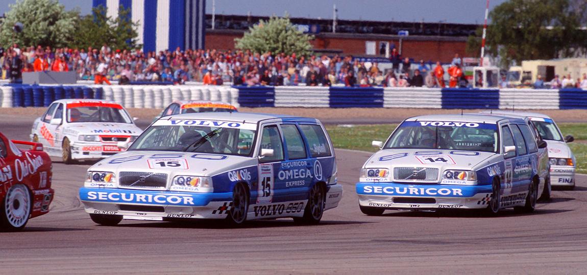 Das Kombi-Duo bei der BTCC 1994.