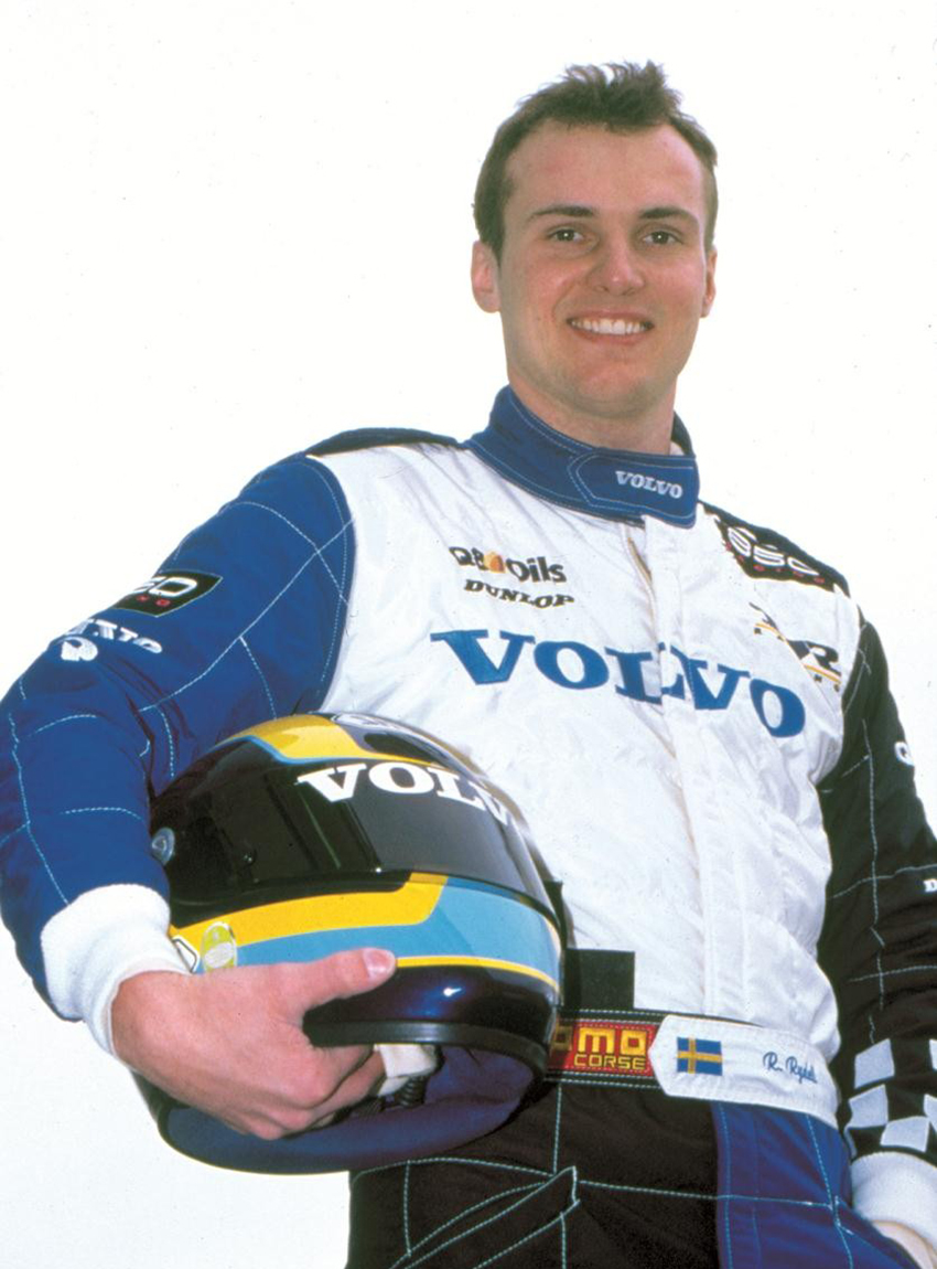 Rickard Rydell holte 1998 den Titel. Allerdings im S40.