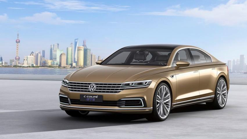 VW C Coupé GTE: Topmodell am Horizont