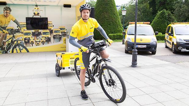 ÖAMTC: Pannenhilfe per E-Bike