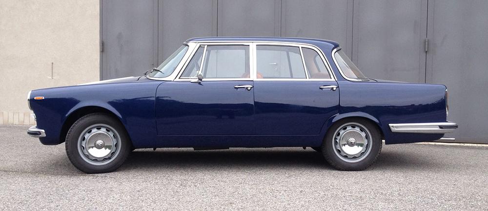 Alfa Romeo 2600 Berlina 5