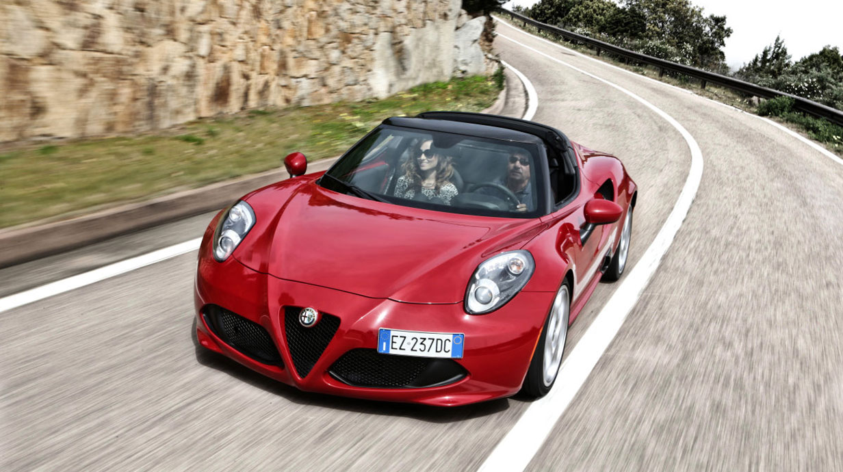 fahrbericht alfa romeo 4c spider. Black Bedroom Furniture Sets. Home Design Ideas