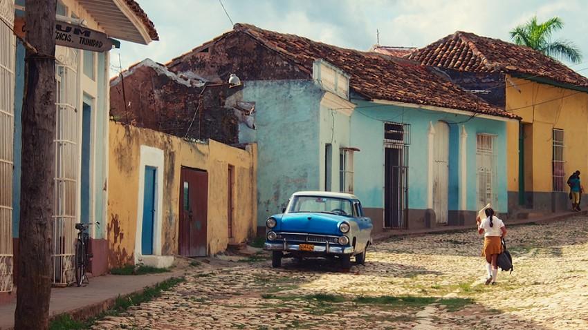 Amerikanische Schlitten in Kuba: Zehn Bilder für Urlaubsflair