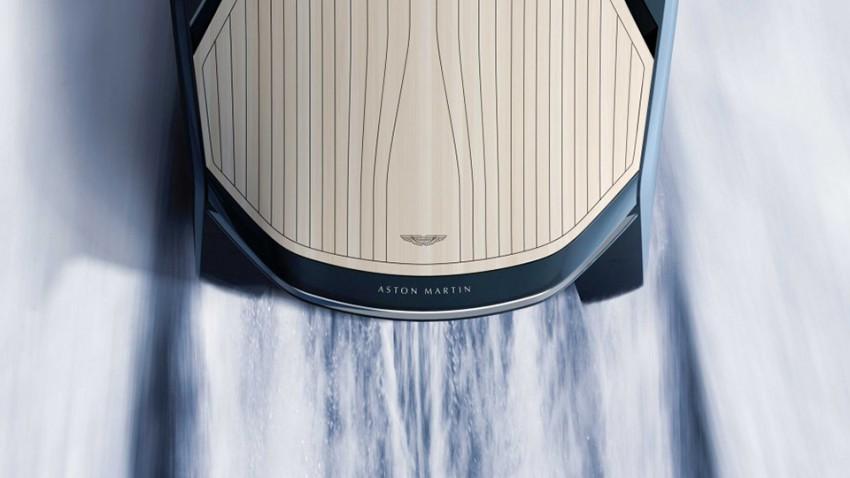 Aston Martin Yacht: Zurück an sichere Ufer