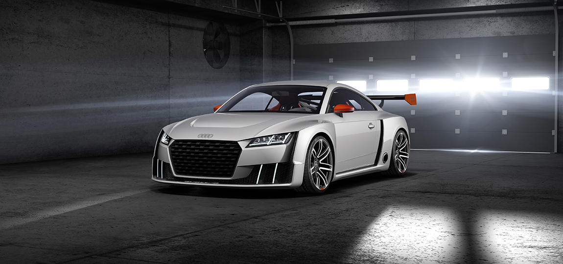 Audi TT clubsport turbo concept