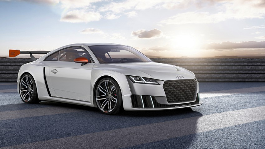 Audi TT clubsport turbo: Das Henne-Ei-Auto