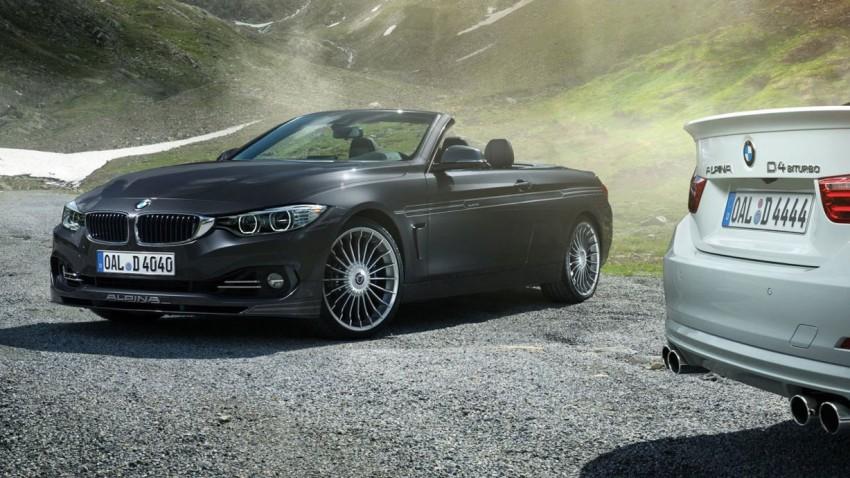 BMW Alpina B4 und D4 Cabrio