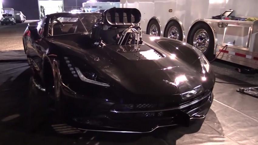 "Corvette ""Beast"" mit 3.500 PS"
