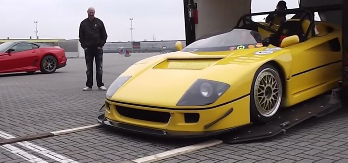 Autsch, auch ein Ferrari hat Gefühle!